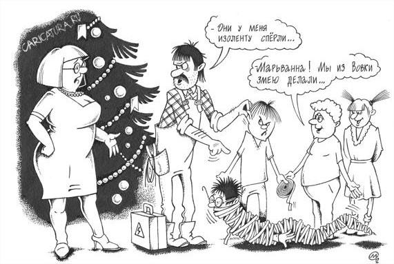 Анекдот новый год в детском саду